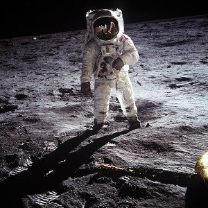 Buzz Aldrin walks the moon and challenges the addiction stigma