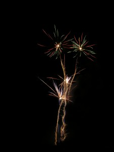 Fireworks in celebration of September being National Recovery Month
