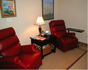 Comfortable Treatment Room at ExecuCare
