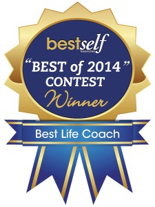 Best Life Coach 2014 for innovative protocol that is having amazing results in freeing clients from the chains of addiction, chronic stress/burnout, PTSD and chronic pain.