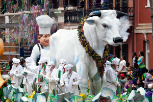 Recovery in New Orleans after Mardi Gras: the Boeuf Gras float has passed, Rex toasted, and the King Cake is gone, are you unable to end the party?