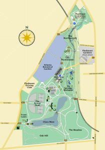 Visit Piedmont Park in the spring - it's a great place to spend time if you're in addiction recovery in ATL! Here's a list of spring activities for healthy living practices.